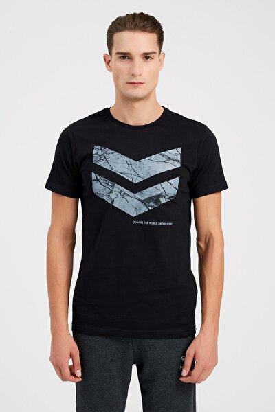 Erkek Spor T-shirt - Hmlsamuel Ss Tee