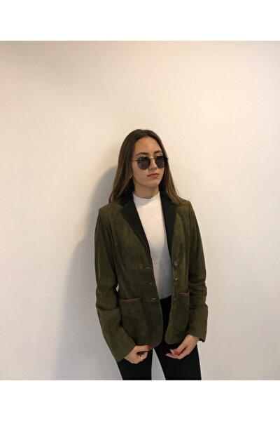 Kadın Haki Ceket