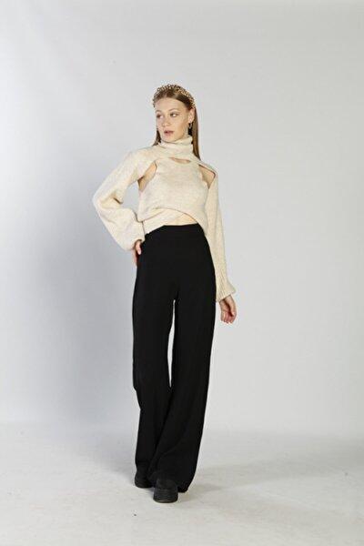 Kadın Siyah Margo Pantolon