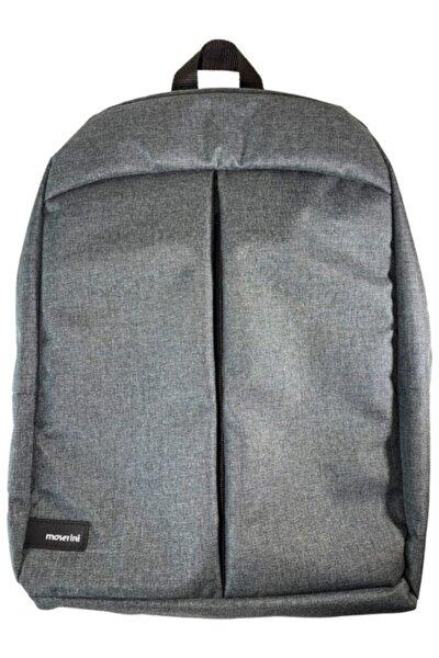 Unisex Smart Slim Laptop-macbook Gri Sırt Çantası