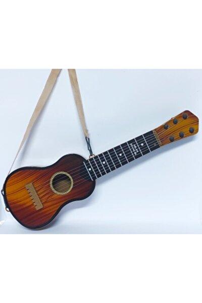 Kahverengi Oyuncak İspanyol Gitar 6 Telli