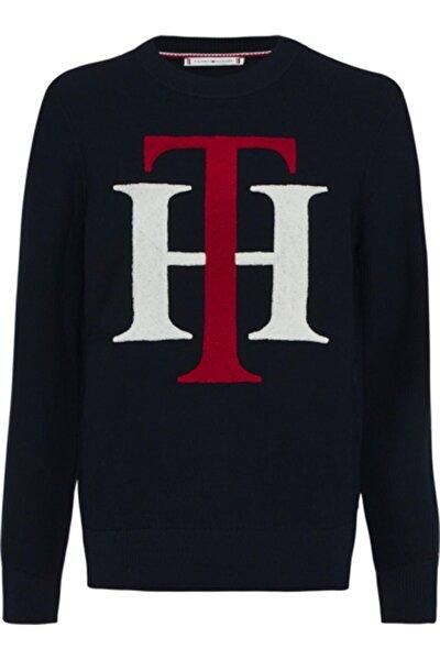 Kadın Siyah Swearshirt Th Graphıc C-nk Sweater Ls