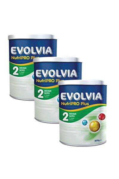 2 Devam Sütü Nutripro Plus 800 gr  3 Adet