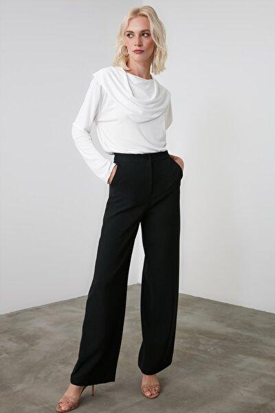 Siyah Basic Pantolon TWOAW21PL0332