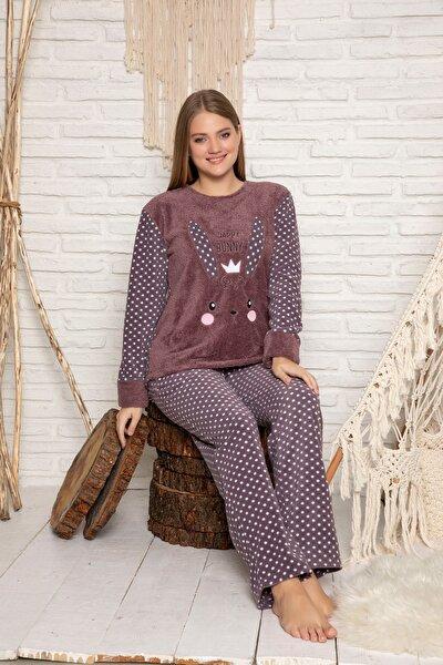 Kadın Vizon Welsoft Pijama Takim
