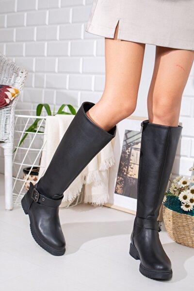 Kadın Siyah Çizme Lmyn0001