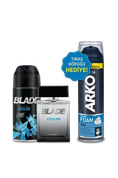 Cooler Erkek Edt Parfüm 100 ml  Deodorant150 ml  Arko Men Tıraş Köpüğü 200 ml