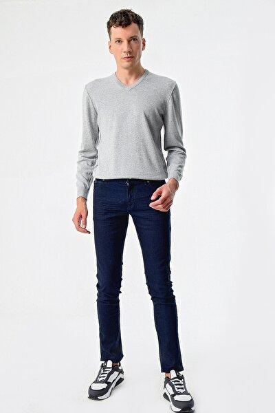 Erkek Mavi Skinny Jeans