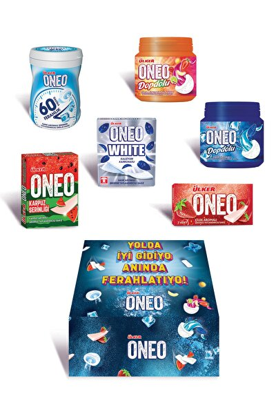 Oneo ''yolda Iyi Gidiyo Anında Ferahlatıyo'' Paketi