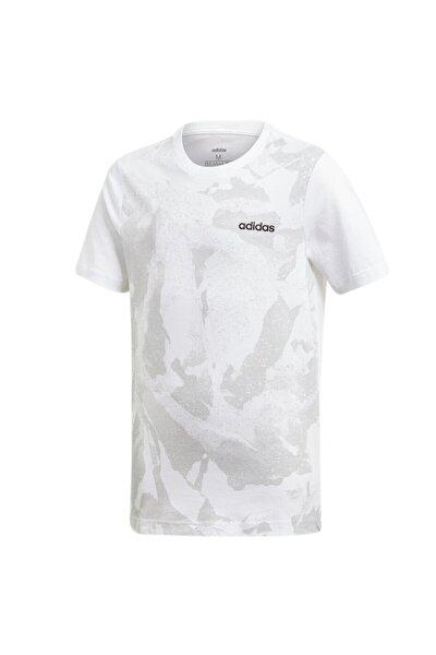 Çocuk Beyaz Günlük T-Shirt Dv1786 Yb E Aop Pr Tee