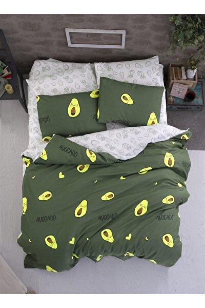 Avokado Green Çift Kişilik Nevresim Seti