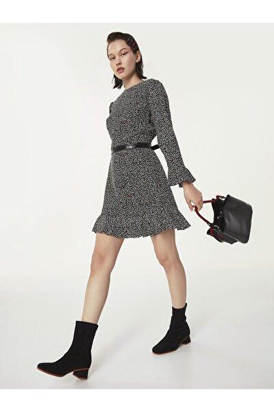 Kalp Desen Elbise