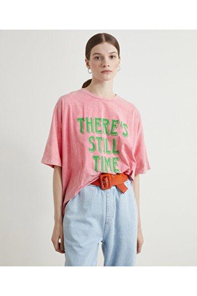 Slogan Baskılı Tişört