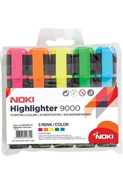 Fosforlu Kalem 5 Renk Set