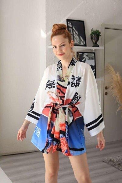 Beyaz Yakuza Kimono