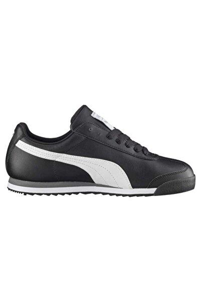 Erkek Siyah Roma Basıc Sneaker 353572