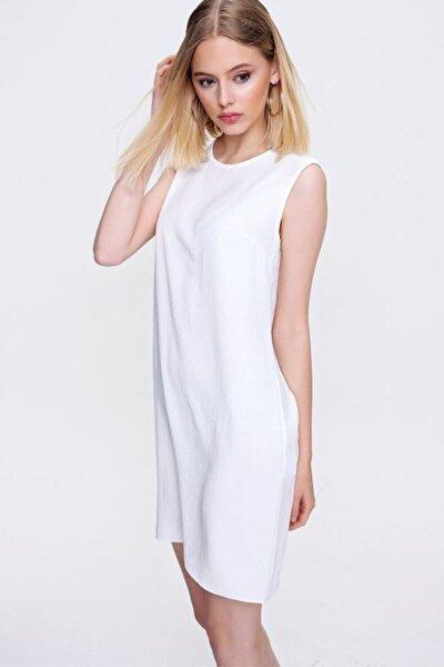 Kadın Beyaz Ayrobin Ceket Içi Içlik