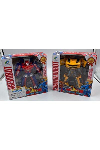 Changerobot Optimus Prime Tıra Dönüşebilen Robot Ve Bumble Bee Arabaya Dönüşebilen Robot
