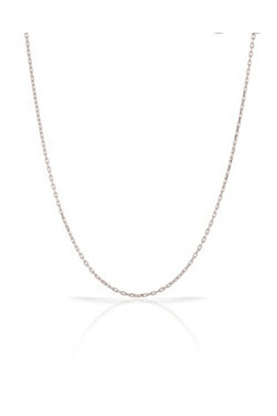 Kadın 925 Ayar Gümüş Zincir 43 Cm