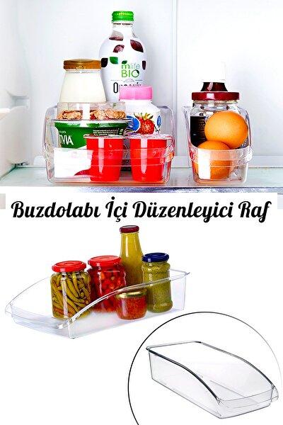 Buzdolabı İçi Şeffaf Sebze Meyve Düzenleyici Organizer