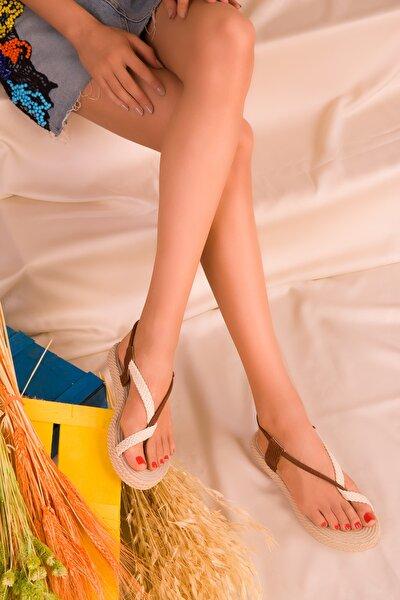 Taba Kadın Sandalet 15018