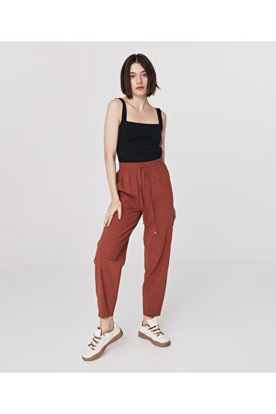 Pamuk Karışımlı Pantolon