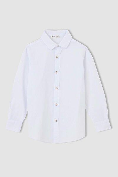 Erkek Çocuk Basic Uzun Kollu Gömlek