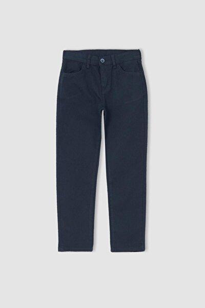 Erkek Lacivert Erkek Çocuk Relax Fit Pantolon U3254A621AU