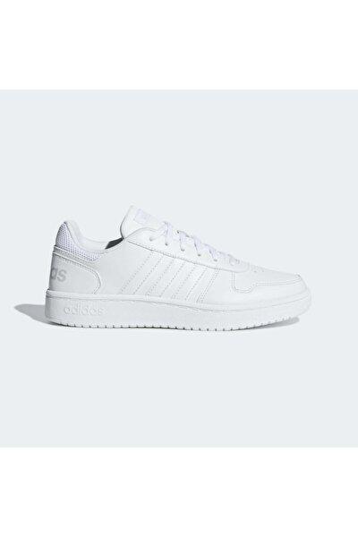 HOOPS 2.0 Beyaz Kadın Sneaker Ayakkabı 100402598