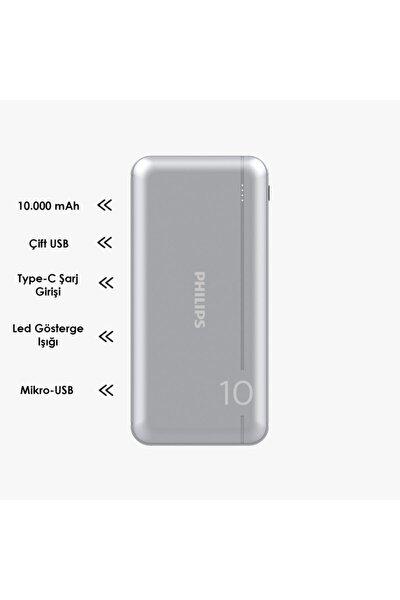 Phılıps Powerbank Ultra Compact 10000 Mah Dlp Seri Dlp1810nv/62 Taşınabilir Şarj Cihazı Typec Uyumlu