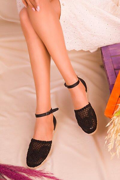 Siyah Kadın Sandalet 16412