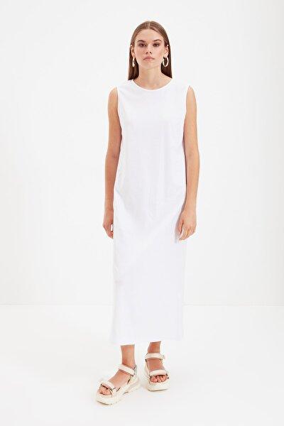 Beyaz Kolsuz Elbise Astarı TCTSS21UK0034