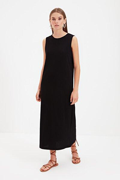 Siyah Kolsuz Elbise Astarı TCTSS21UK0034