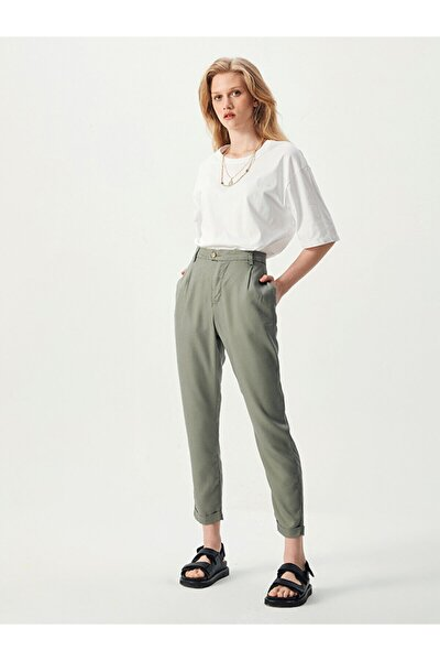 Temocı Agava Green Wash Pantolon