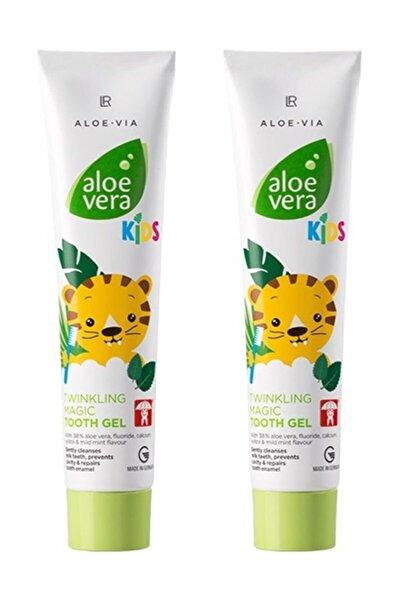 Aloe Vera Kids - Çocuklara Özel Twinkling Magic Diş Macunu - 2'li Set