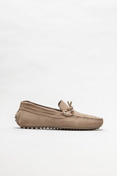 Vizon Deri Erkek Günlük Loafer Ayakkabı