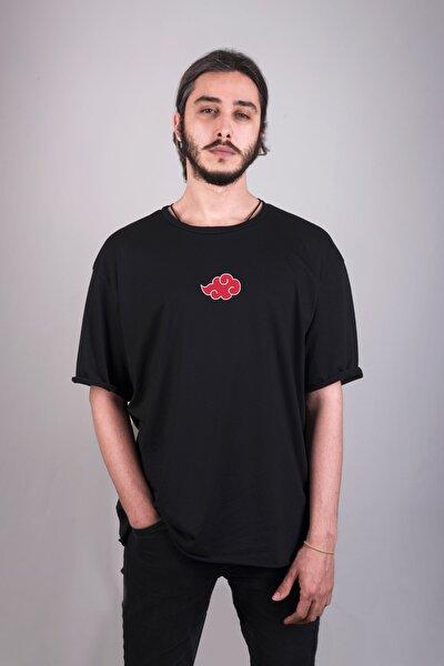 Naruto Akatsuki Özel Tasarım Baskılı Oversize Unisex Tişört