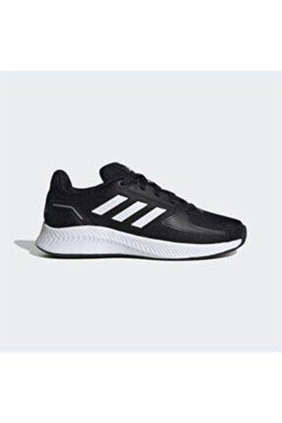 Kadın Siyah Bağcıklı Koşu Ayakkabısı Fy9495