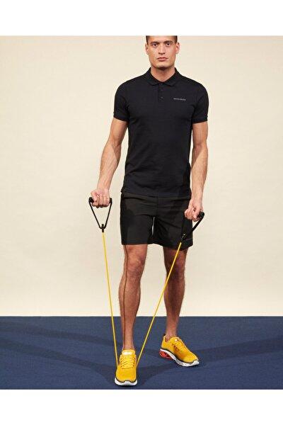Polo M Short Sleeve Polo Erkek Siyah Polo Yaka Tshirt