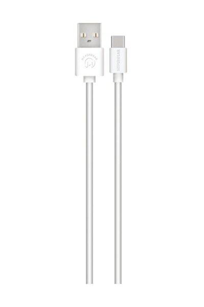 Kablo Usb-c-beyaz ( Tr Garantili)