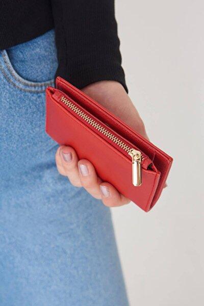Kadın Kırmızı Cüzdan Czdn79 - F6 Adx-0000023259