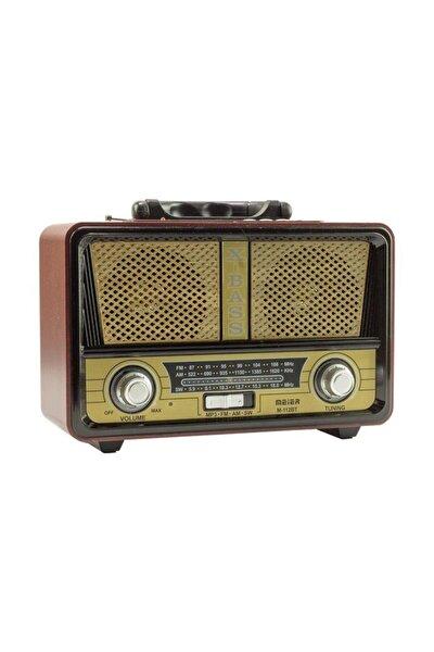 Şarjlı Nostaljik Radyo M-112bt Usb/sd/mp3/bluetooth