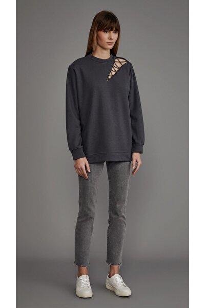 Addicted Gri Sweatshirt