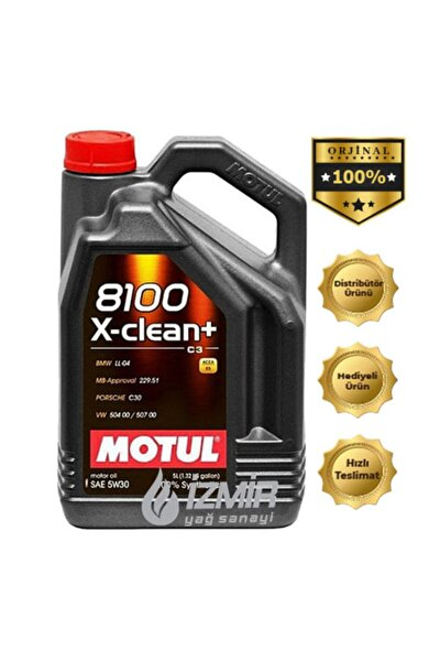 8100 X-clean (+) 5w/30 5 lt