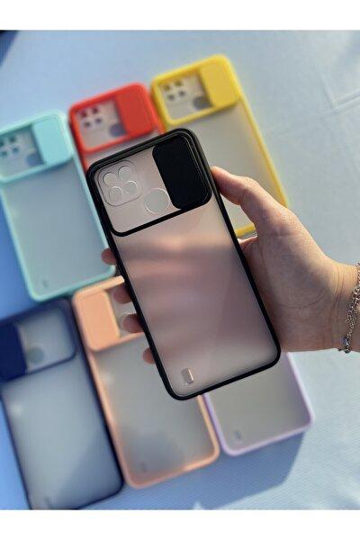 Oppo Realme C21 Kamera Sürgülü Mika Kılıf