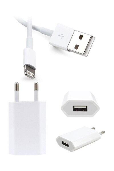 Apple Iphone Uyumlu Şarj Aleti 5/5s/6/6s/7/7plus 8/8 Plus X/xs/xs Max  (kablo + Adaptör)