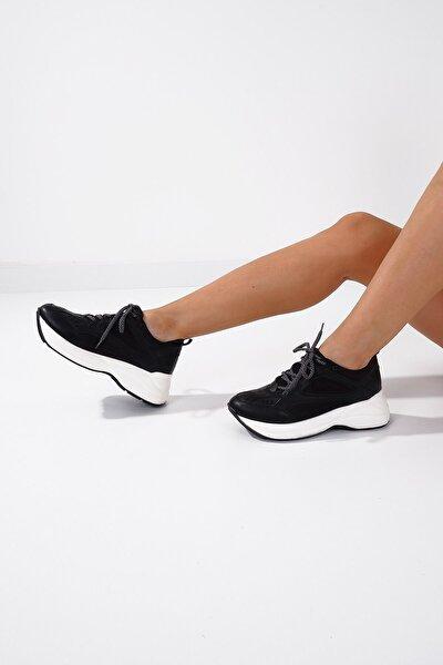 65019 Kadın Spor Ayakkabı Siyah