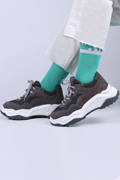 Fiona Hakiki Deri Sneaker