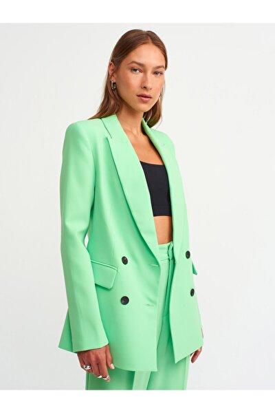 6921 Blazer Ceket-açık Yeşil
