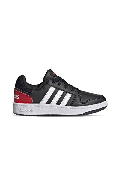 Unisex Çocuk Siyah Basketbol Ayakkabısı Hoops 2.0 K